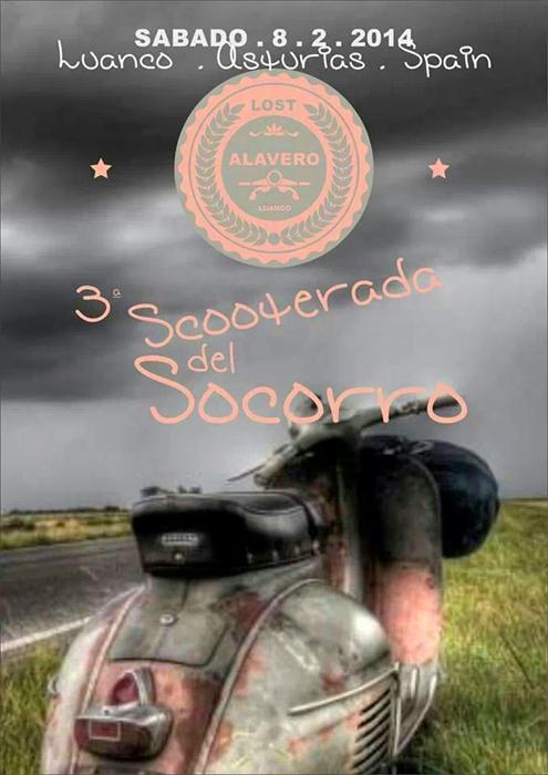 """""""Scooterada del Socorro"""" en Luanco 8 DEFEBRERO 2014 Scooterada_luanco"""