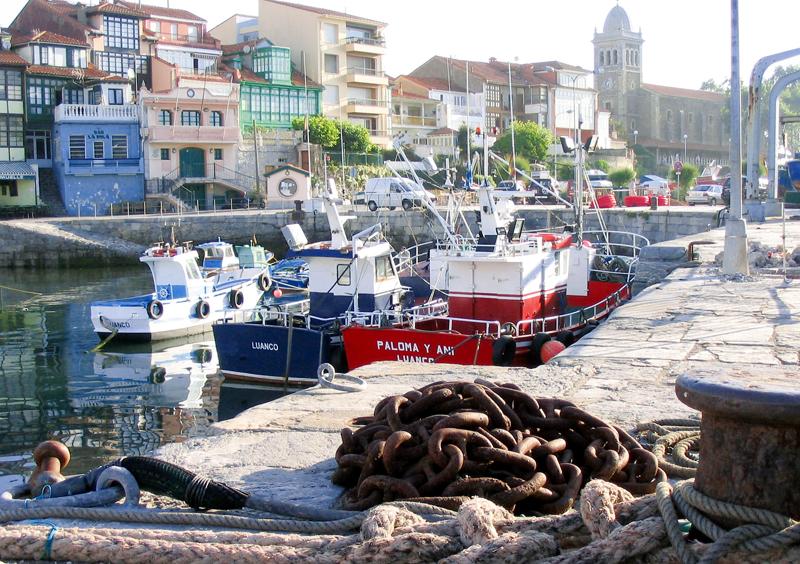 Muelle de Luanco, Gozón, Asturias